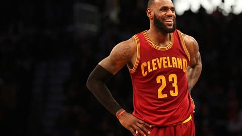 LeBron James being better than ever