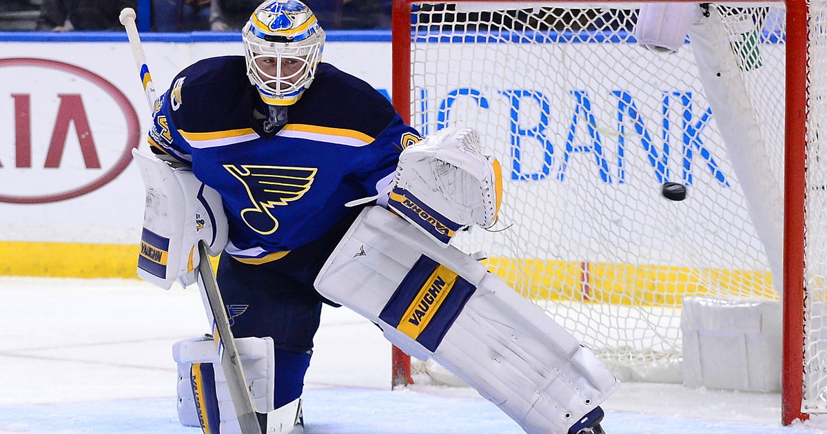 NHL: Blues goalie Jake Allen can look to past for future success