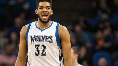 Karl-Anthony Towns, selected by Brandon Ingram of the Lakers