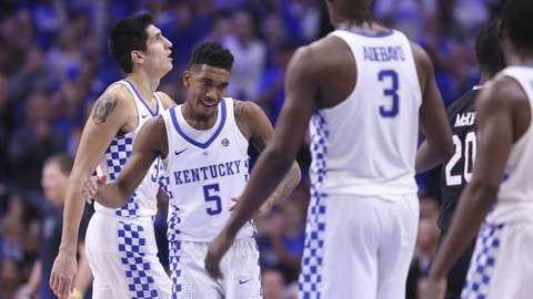Kentucky likely cost itself a No. 1 seed with a loss to Kansas