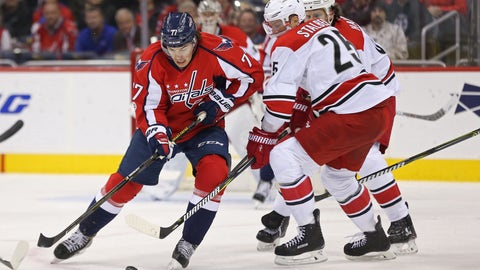 Capitals Continue to Light the Lamp, Score Five in New Jersey