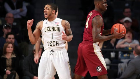 No. 10 Florida State outlasts No. 12 Louisville at home