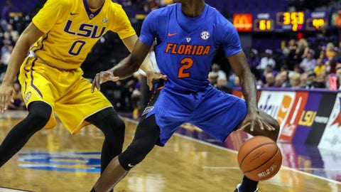 No. 25 Florida routs LSU 106-71