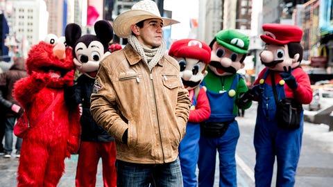 2017 PBR: Professional Bull RidingCowboy in the CityTime Square/New York, NY, USA01/08/2017SI-679 TK2Credit: Taylor Ballantyne