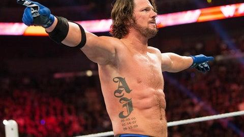 WINNER: AJ Styles (SmackDown)