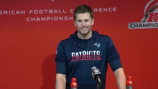 Tom Brady's funny moment after AFC Championship win