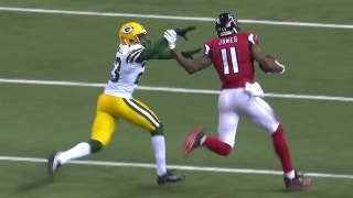 Julio Jones 73-yard touchdown reception in NFC Championship Game