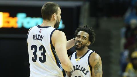 Memphis Grizzlies (43-39)
