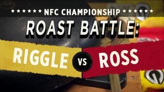 Jeff Ross vs Rob Riggle in the 'Roast Battle' | FOX NFL SUNDAY
