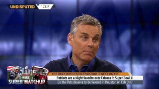Cowherd not surprised by Super Bowl LI opening line | UNDISPUTED