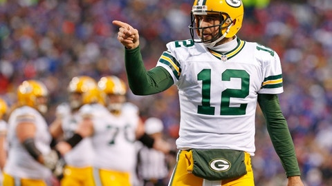 Green Bay Packers: +725 (29/4)