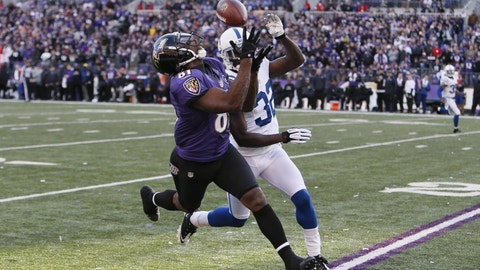 December 23: Indianapolis Colts at Baltimore Ravens, 4:30 p.m. ET