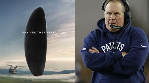 """""""Arrival"""" = The Patriots offense"""