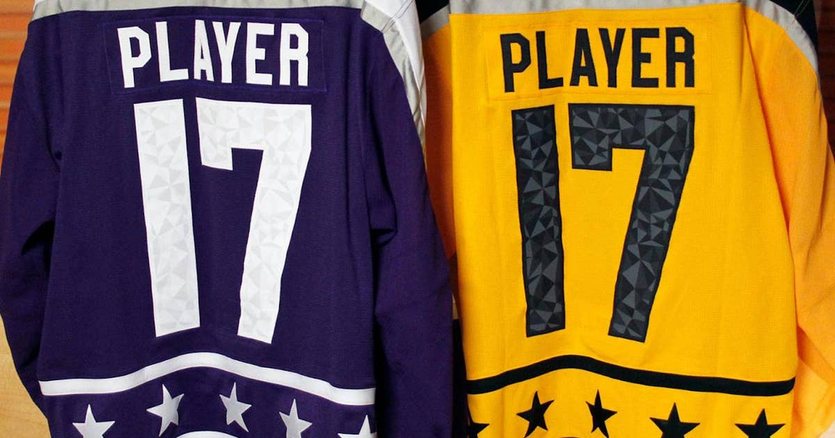 Here's a first look at the 2017 NHL All-Star Game jerseys