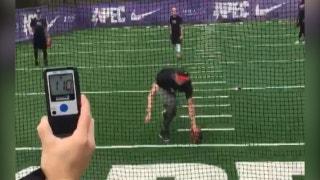 Watch a MLB pitcher throw a ball 110 MPH