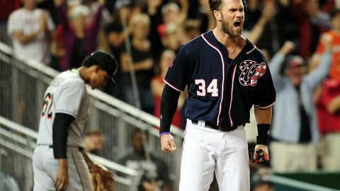 Bryce Harper, Washington Nationals (OF)