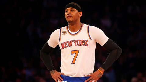 Carmelo Anthony, Knicks