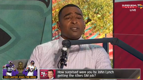 Cris Carter: I wouldn't have taken that job