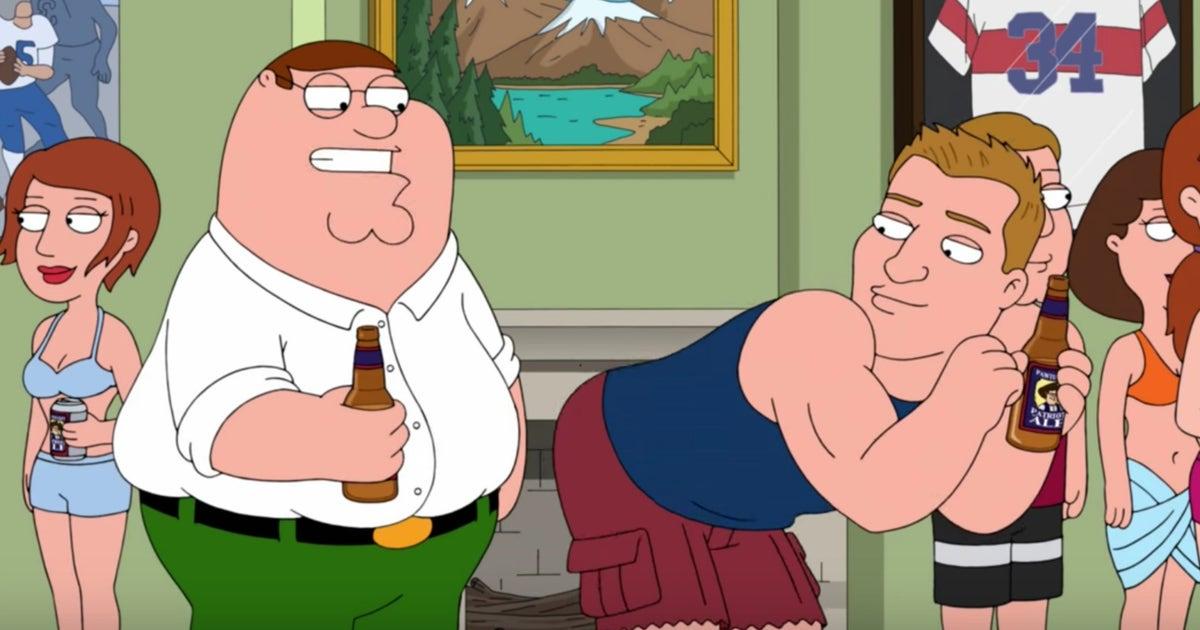 Patriots Star Rob Gronkowski Parties On Family Guy Fox