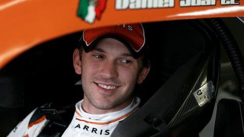 Row 8, Daniel Suarez