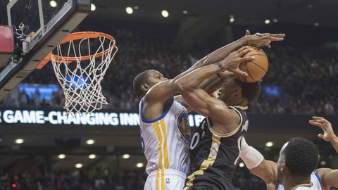 Kevin Durant has become a rim protector