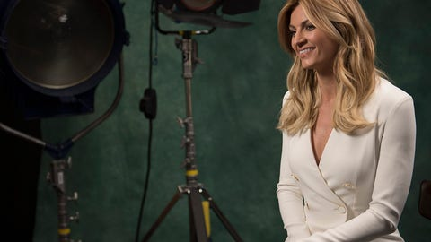 Portrait of FOX Sports reporter Erin Andrews