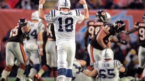 Indianapolis Colts -- Peyton's first (Super Bowl XLI)