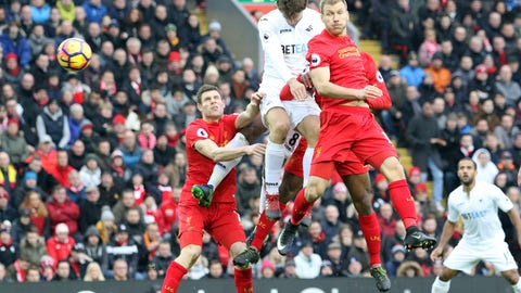 Liverpool's defense slips up