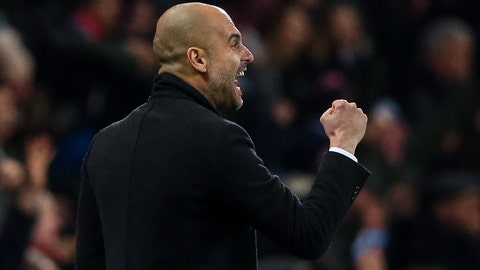 Pep Guardiola went for it