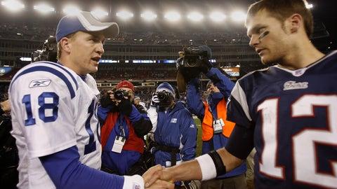 2003: Patriots 24, Colts 14
