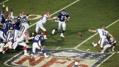 Super Bowl XXV: Giants 20, Bills 19