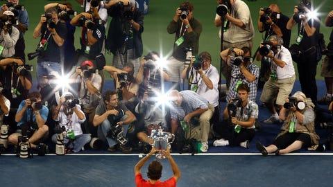 2008 U.S. Open (d. Andy Murray in 3)