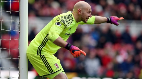 Guzan agrees to join Atlanta from Boro
