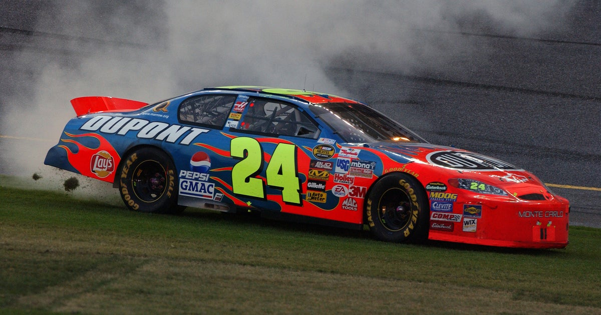 Jeff Gordon S Iconic Daytona 500 Paint Schemes And Results