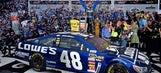 Jimmie Johnson's Daytona 500 paint schemes through the years