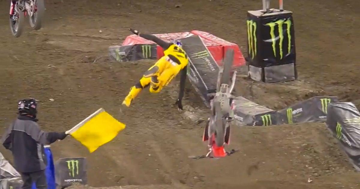 Nascar Drivers React To Ken Roczen S Nasty Supercross