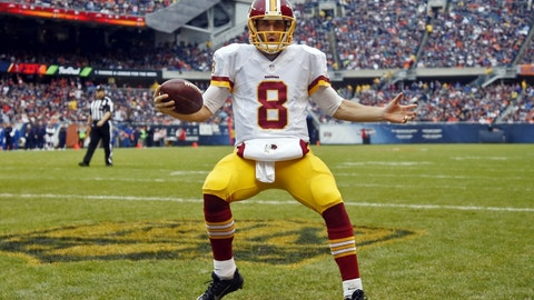 Kirk Cousins will be in Washington playing the first year of a long-term deal