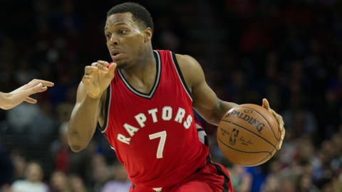 Kyle Lowry out for at least rest of regular season