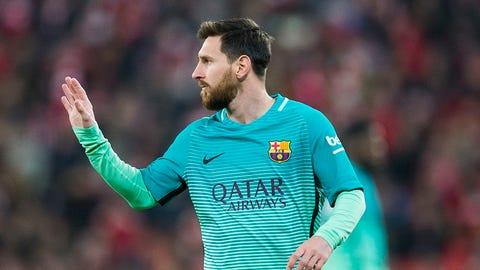 11. Lionel Messi, Barcelona ($28 million)