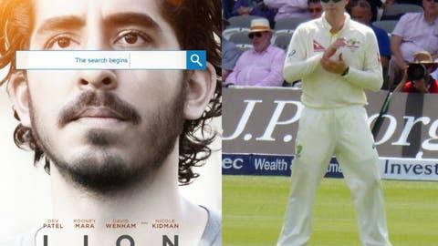 """Lion"" = Australian cricket captain Steve Smith"