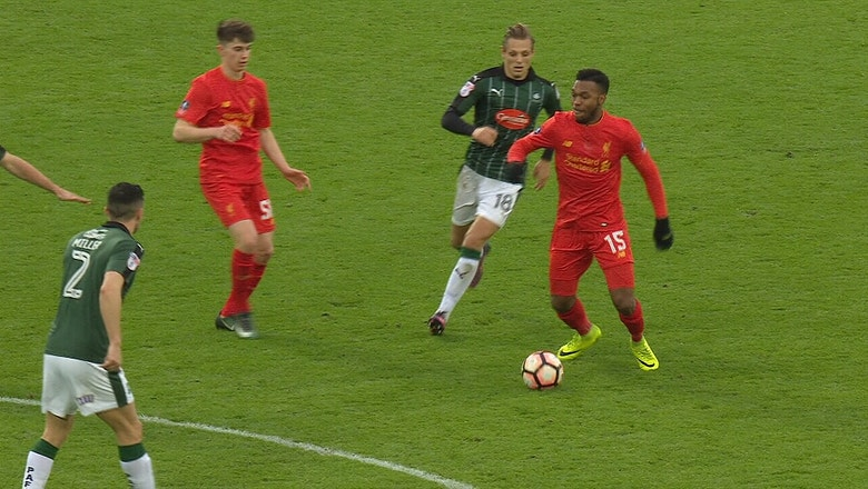 Liverpool vs. Plymouth Argyle | 2016-17 FA Cup Highlights