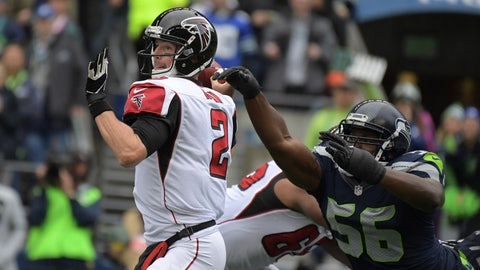 NFC: No. 2 Atlanta Falcons vs. No. 3 Seattle Seahawks