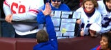 Young McAdoo look-alike gets high five from Ben McAdoo