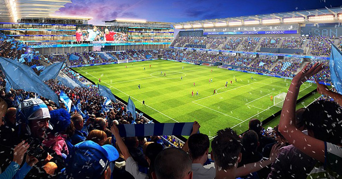 Plans for San Diego MLS franchise and new stadium at Chargers ex-home unveiled