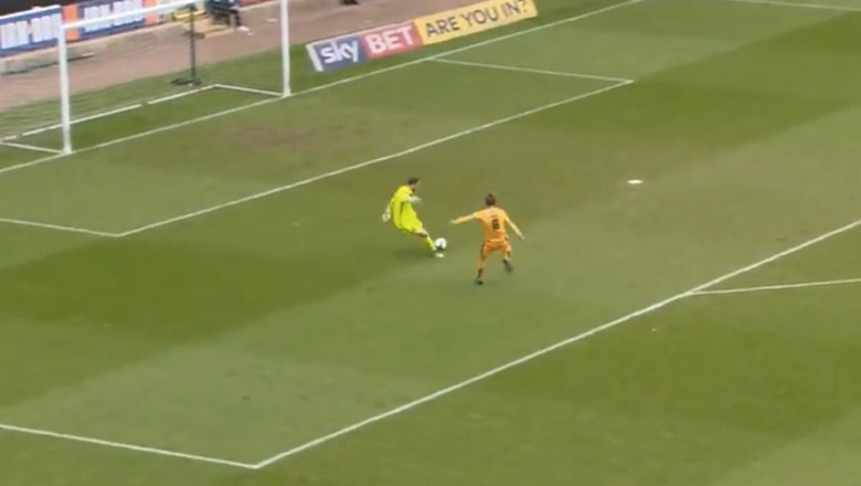 Notts County somehow managed this embarrassing GK error 3 times vs. the same team