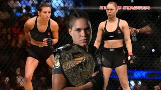 Amanda Nunes says Miesha Tate is way better than Ronda Rousey