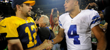 Quarterbacks under microscope as Packers battle Cowboys