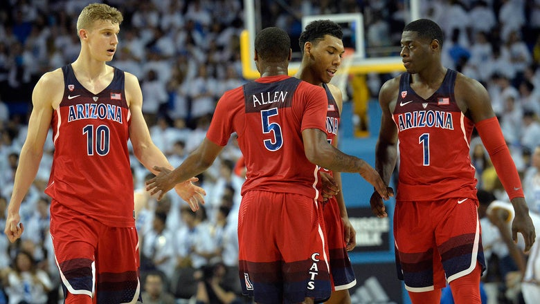 Arizona jumps from 14th to 7th in AP basketball poll