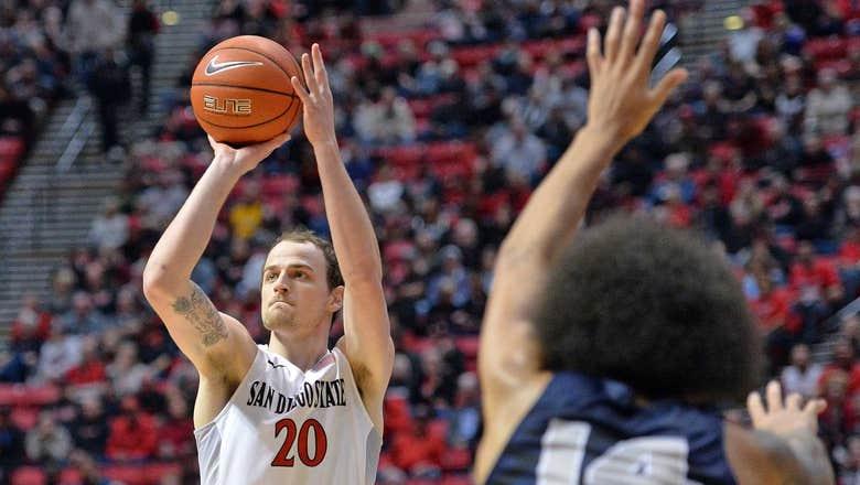Shrigley, Hemsley lead SDSU to 74-55 win vs Utah State