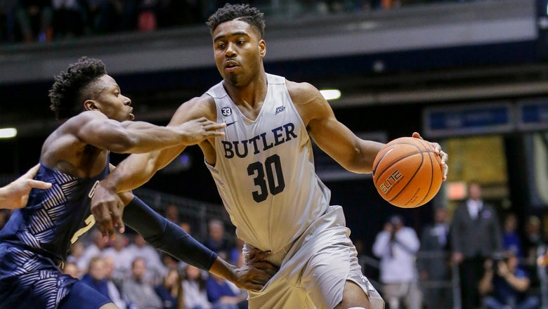 Butler's home winning streak snapped with 85-81 loss to Georgetown